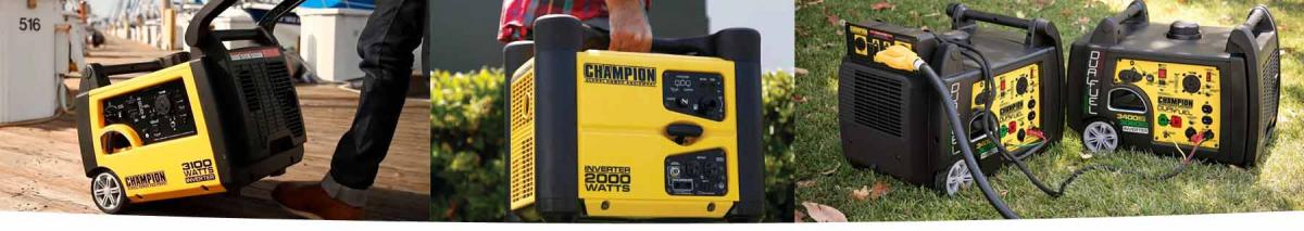 Champion Generators - Energy Generator Sales