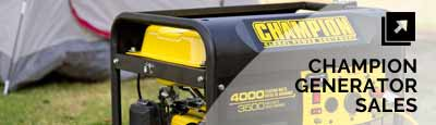 Champion Generators For Sale