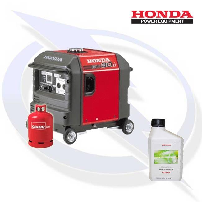 Honda EU30is 3kW Dual Fuel LPG Inverter Generator | Energy Generator Sales