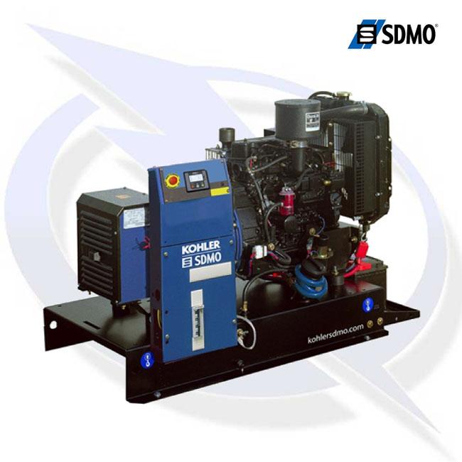 SDMO K10M 9kVA 89kW 230V Alize Industrial Silent Diesel Canopy Generator