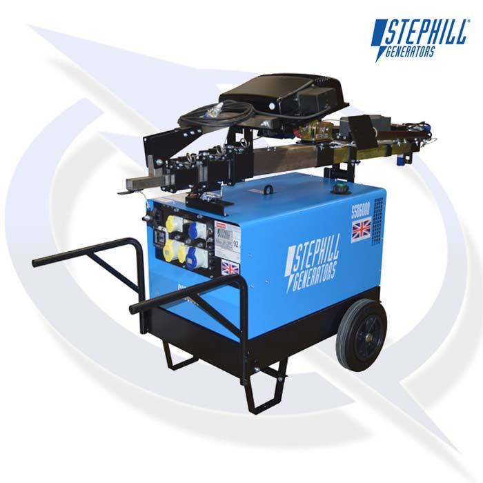 Portable Light Tower Price: Stephill SLT6000D5 Lighting Tower Generator