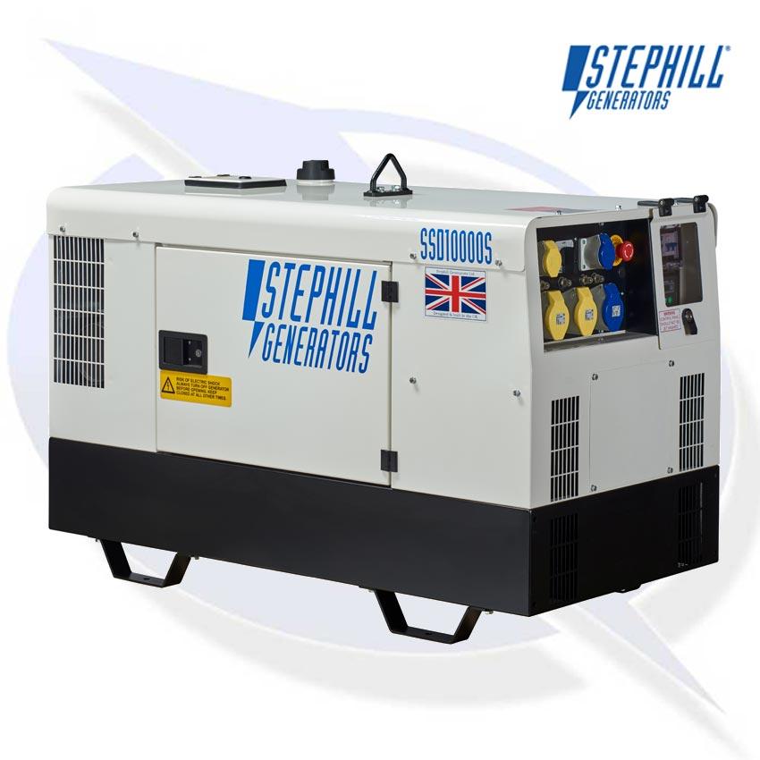 Stephill SSD10000S Generator - Kubota Diesel Engine | Energy