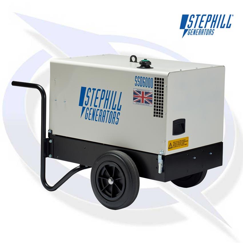 Stephill SSD6000 Generator - Yanmar Diesel Engine | Energy Generator
