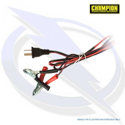 Champion 12v DC Leads for CPG3500, CPG4000E1, CPG4500, CPG6500E2 & CPG9000E2 Generators