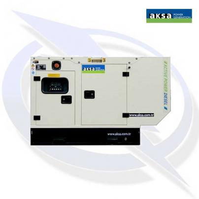 Aksa APD33MA 25kVA/25kW Single Phase Diesel Canopy Generator