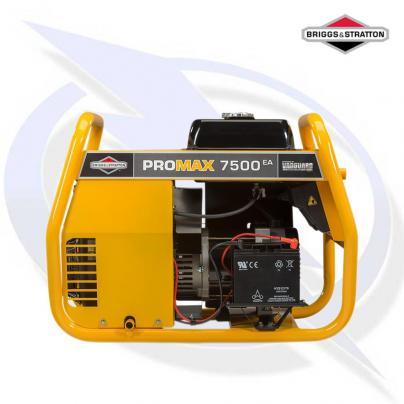 Briggs & Stratton ProMax 7500EA 7.5kW AVR Framed Petrol Generator