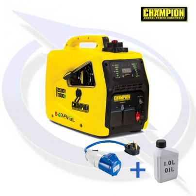 CHAMPION 82001I-E-DF 2000 WATT DUAL FUEL INVERTER GENERATOR