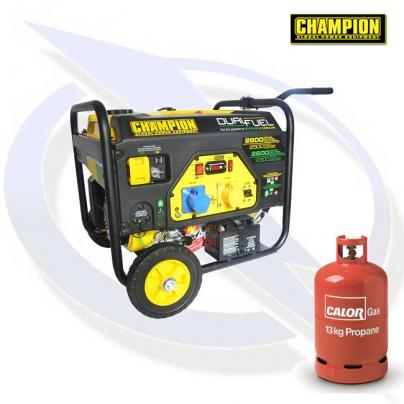 Champion CPG3500E2-DF 2800 Watt Dual Fuel Generator