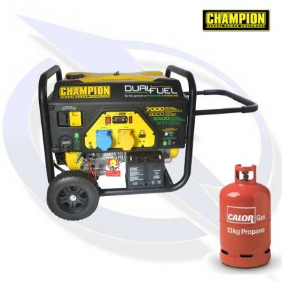 Champion CPG7500E2-DF 7000 Watt AVR Dual Fuel Generator