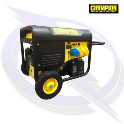 CHAMPION CPG9000E2 8000 WATT PETROL FRAMED GENERATOR