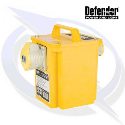 Defender 3.3KVA TRANSFORMER 1X 16A AND 1X 32A 110V OUTLETS