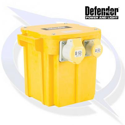 5KVA TRANSFORMER 1X 16A AND 1X 32A 110V OUTLETS