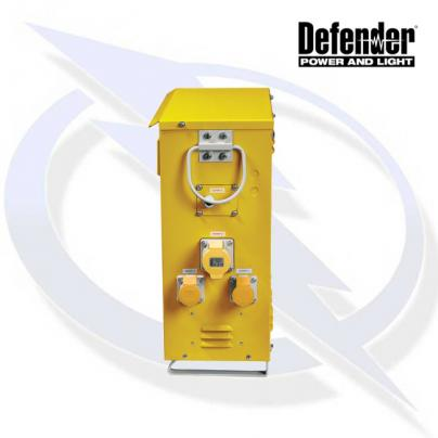 Defender 7.5KVA SLIMLINE TRANSFORMER 110V INCL 4X 16A 2X 32A, 2X LIGHTING OUTLETS