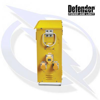 Defender 7.5KVA SLIMLINE TRANSFORMER 110V INCL 4X 16A 2X 32A, 2X LIGHTING OUTLETS