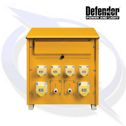 Defender 10KVA 3 PHASE MK2 TRANSFORMER 110V INCL 4X 16A 2X 32A, 2X LIGHTING OUTLETS