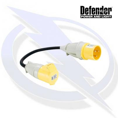Defender 32-16A 110V Fly Lead - 32A Plug 16A Socket 110V