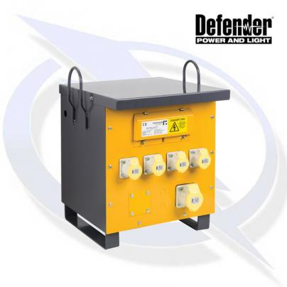 Defender 5KVA SITE TRANSFORMER 4X 16A AND 1X 32A 110V OUTLETS