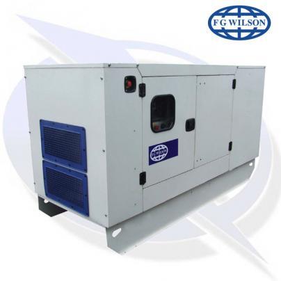 FG Wilson P110-3 AVR 110kVA/88kW Diesel Canopy Generator