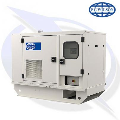 FG Wilson P14-6S AVR 14kva/14kW EU Stage 3A Diesel Canopy Generator