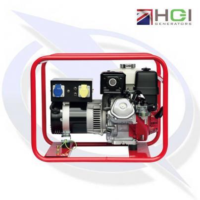 HGI Harrington HRP24MD 3kVA/2.4kW Honda GX160 Petrol Generator