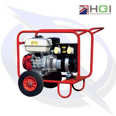 HGI Harrington HRP35D 4.4kVA/3.5kW Honda GX270 Petrol Generator