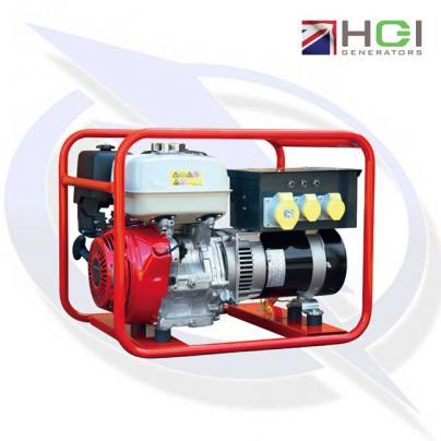 HGI Harrington HRP40D 5kVA/4kW Honda GX270 Petrol Generator