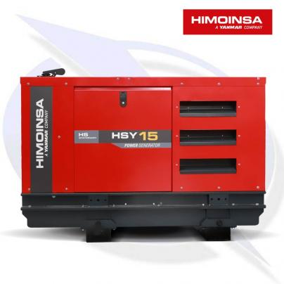 HIMOINSA HSY-15 T5 15.3KVA/12.2KW THREE PHASE DIESEL CANOPY GENERATOR
