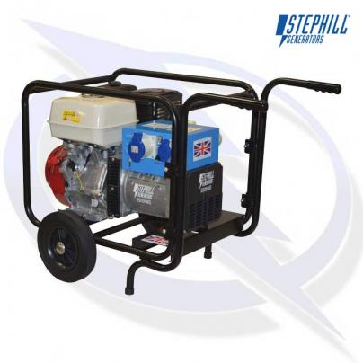 Stephill Trolley Kit 5kVA - 10kVA Generator Trolley Kit