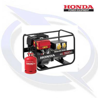 Honda EC5000 5kW/5kVA Framed Dual Fuel LPG Generator