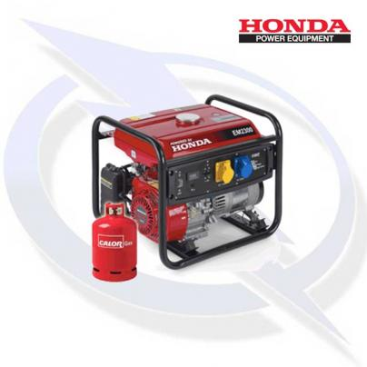 Honda EM2300 AVR 2.3kW/2.3kVA Framed Dual Fuel LPG Generator