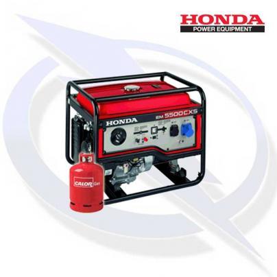 Honda EM 5500cxs Specialist Framed Dual Fuel LPG Generator