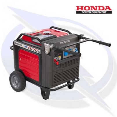 Honda EU70iS 7kW/7kVA Dual Fuel LPG Petrol Inverter Generator