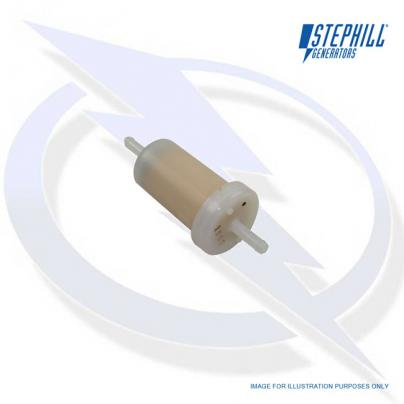 Small In-Line Fuel Filter for Honda GX Long-Run Stephill Generator Engines