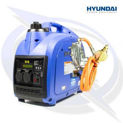 Hyundai HY2000Si LPG 2.75kVA/2.2kW Inverter Suitcase Petrol Generator