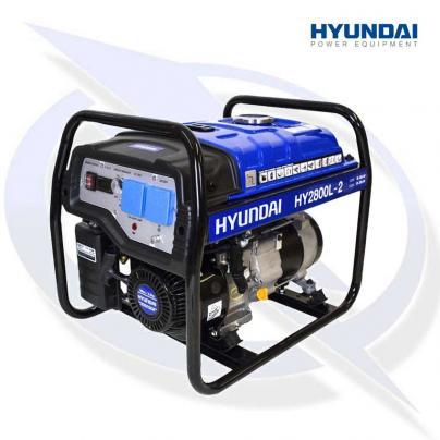 Hyundai HY2800L-2 2.2kW/2.75kVa Recoil Start Petrol Generator