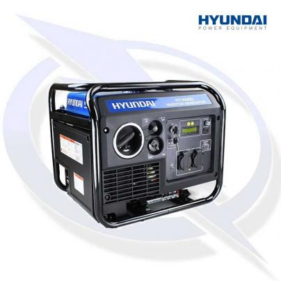Hyundai HY3500Ei 3.3Kva/3.3Kw Electric Start Inverter Generator