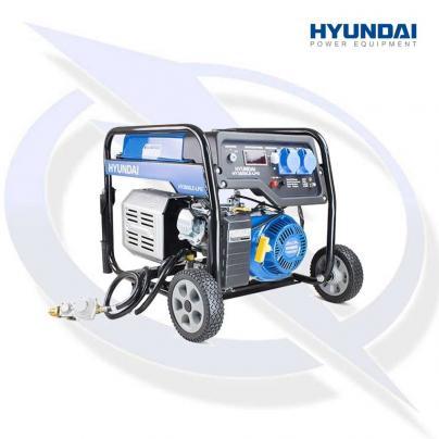 Hyundai HY3800LE-LPG 3.2kW/4kVa Electric Start Dual Fuel Petrol Generator