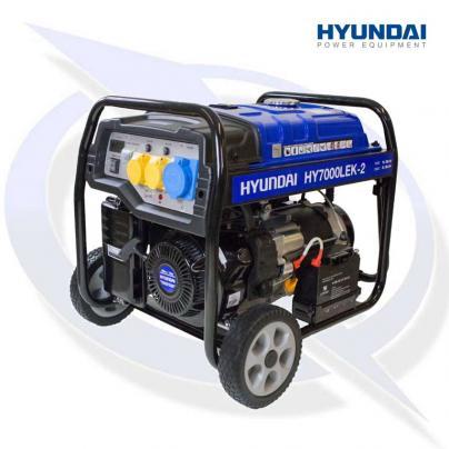 Hyundai HY7000LEK-2 6.8kVa/5.5kW Petrol Generator