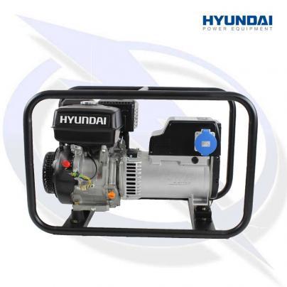 Hyundai HY8500 Hire Pro 7kVA/6Kw Petrol Generator