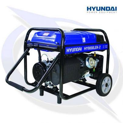 Hyundai HY9000LEK-2 9.4kVA/7kW Framed Petrol Generator