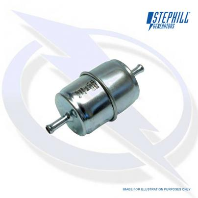 In-line Fuel Filter for Kubota V1505, D1703, D1105, D722, V2203 & V2003T Stephill Generator Engines