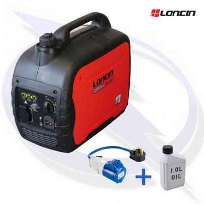 Loncin LC2000i 1.8kW petrol inverter suitcase generator