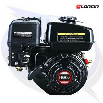 """Loncin G160F-P Engine with 3/4"""" Shaft - Replaces Honda GX160"""