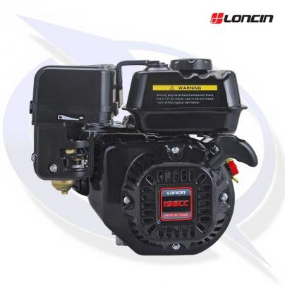 """Loncin G200F-EP Engine with 3/4"""" Shaft - Replaces Honda GX200"""