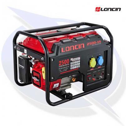loncin lc2500-as 2.5kva / 2.0kw frame mounted petrol generator