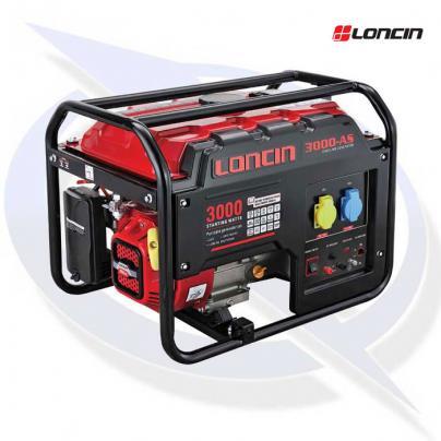 loncin lc3000-as 3.0kva / 2.5kw frame mounted petrol generator
