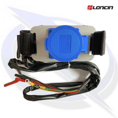 Loncin LC3500i Parallel Connection Kit with 32A Socket