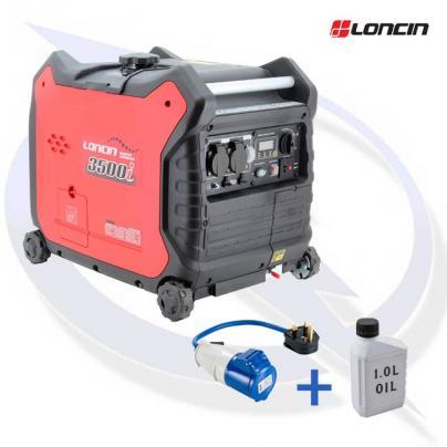 loncin lc3500i 3.3kva/3.0kw inverter suitcase generator