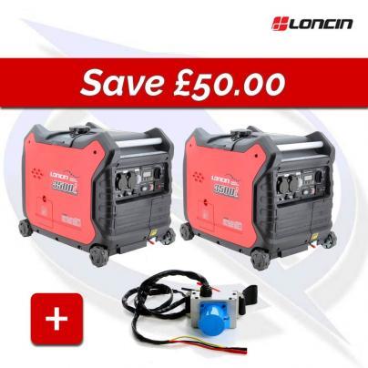 Loncin LC3500i 3.3kva/3.3kw  inverter petrol generator Parallel Bundle