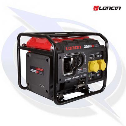 Loncin LC3500iO 3000W 110V Inverter Framed Generator